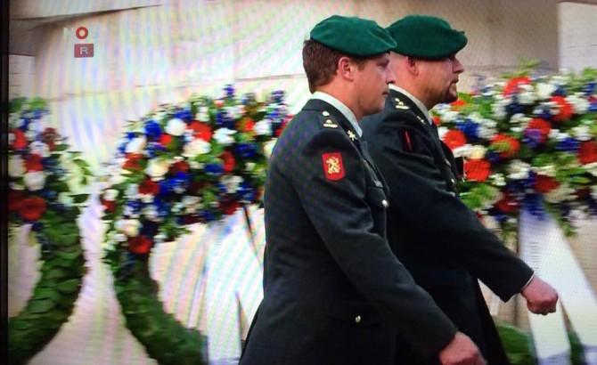 04-05-2015 | Ridders Kroon en Tuinman aanwezig bij nationale Dodenherdenking
