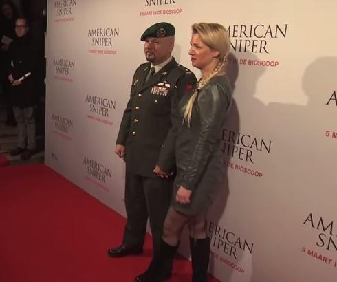 25-02-2015 | Marco Kroon te gast bij premiere American Sniper