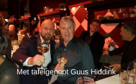24-03-2018 | Marco Kroon bij jaarlijkse Chef's Table Charity Night