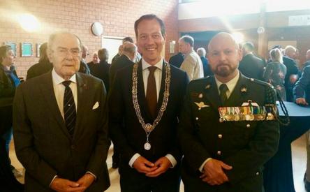 10-05-2018 | Marco Kroon aanwezig bij herdenking gesneuvelde Grenadiers en Jagers