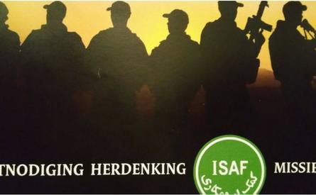 19-02-2016 | Marco Kroon aanwezig bij herdenking ISAF-missie