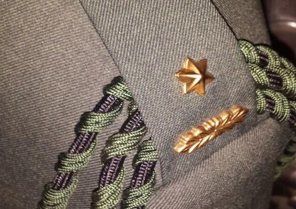 03-11-2014   Ridder Kroon bevorderd tot majoor