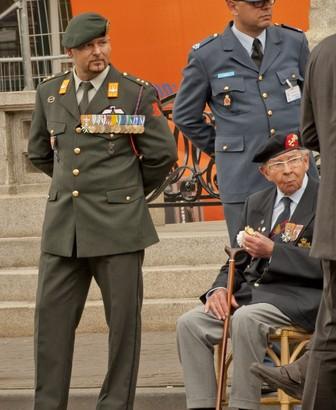 28-06-2014 | Ridder Kroon aanwezig op Veteranendag