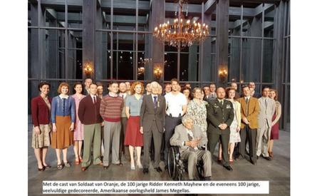 30-10-2017 | Marco Kroon te gast bij viering 7 jaar musical Soldaat van Oranje.