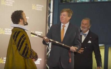 24-04-2018 | Marco Kroon te gast bij opening tentoonstelling 'Willem'