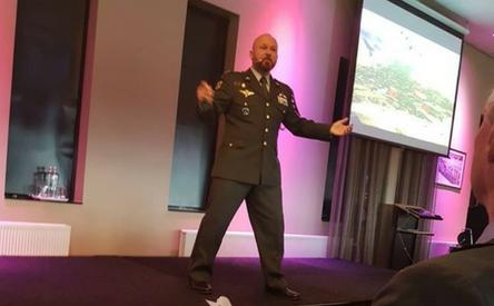 18-05-2018 | Marco Kroon spreekt op Veteranendag Alkmaar