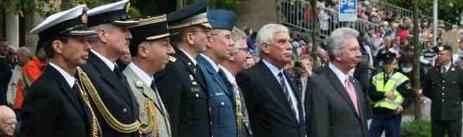 05-05-2012 | Marco Kroon te gast bij Het Nationaal Comité Herdenking Capitulaties 1945 Wageningen