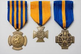 27-05-2015 | Marco Kroon bij de jaarlijkse bijeenkomst van de Vereniging Dragers Militaire Dapperheidsonderscheidingen