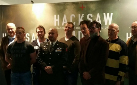 02-11-2016 | Marco Kroon bij première Hacksaw Ridge