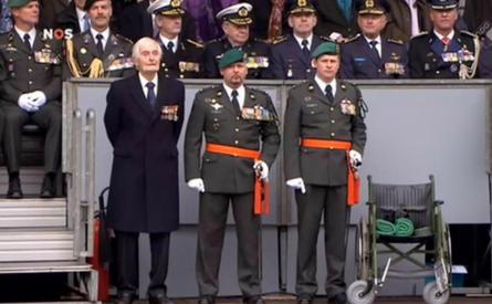 15-03-2016 | Marco Kroon bij uitreiking Militaire Willems-Orde aan KCT