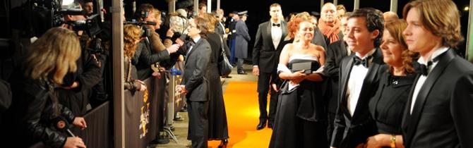 25-03-2012 | Marco Kroon eregast bij de 500ste voorstelling van 'Soldaat van Oranje'