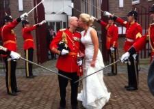 11-12-2013   Marco Kroon in het huwelijk getreden