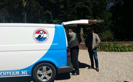 04-07-2018 | Veteranen Search Team op bezoek op landgoed De Zwaluwenberg
