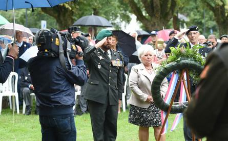 25-08-2018 | Marco Kroon bij herdenking in Indië gesneuvelde militairen en vrijwilligers