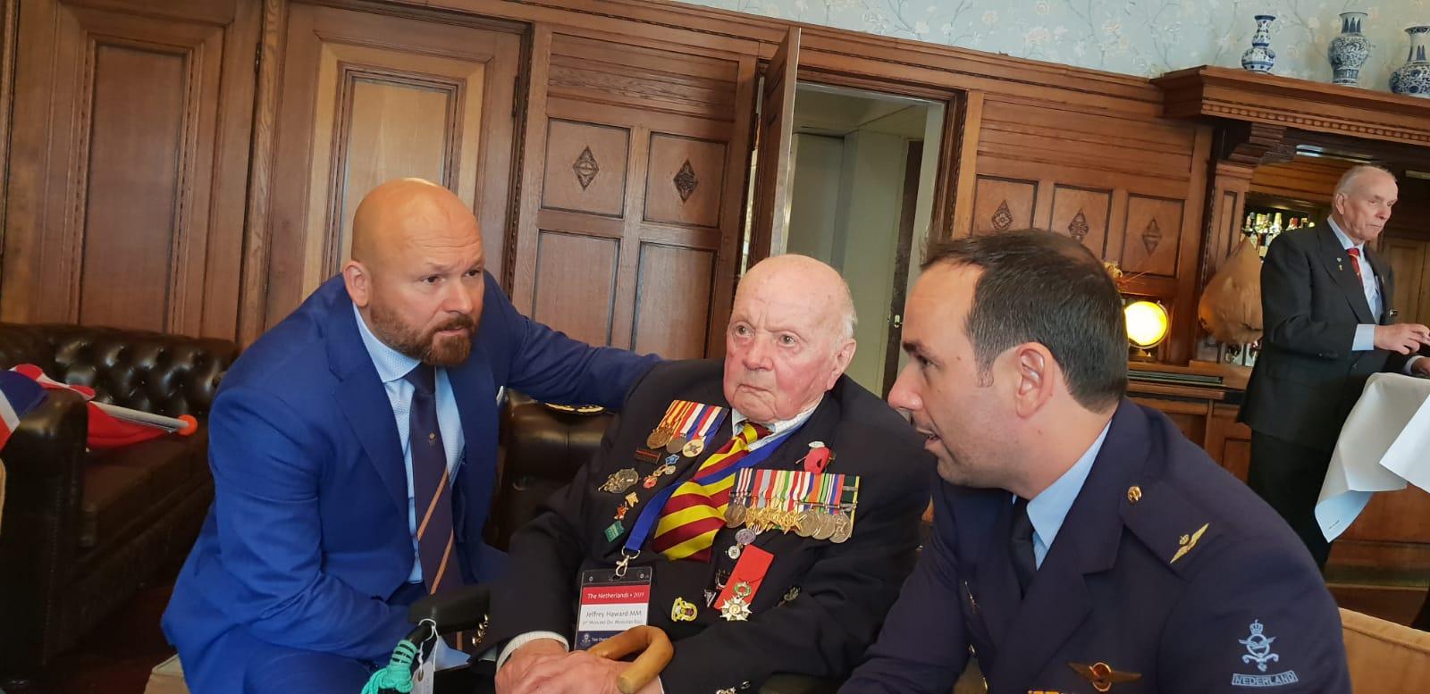 2019-05-05 | Marco Kroon bij bevrijdingsdefilé in Wageningen