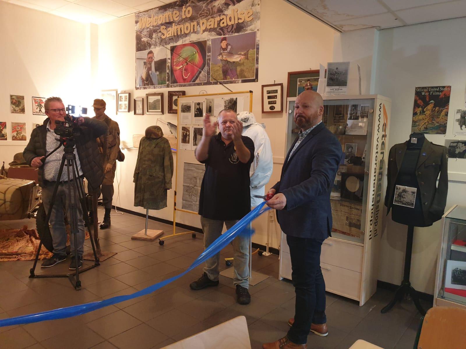 2019-10-22 | Marco Kroon opent tentoonstelling bij  VOC 'De ouwe stomp'