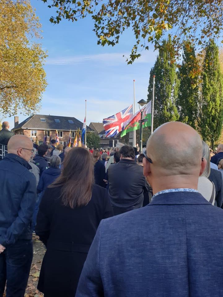 2019-10-26 | Herdenking gesneuvelde Britse militairen bevrijding Den Bosch